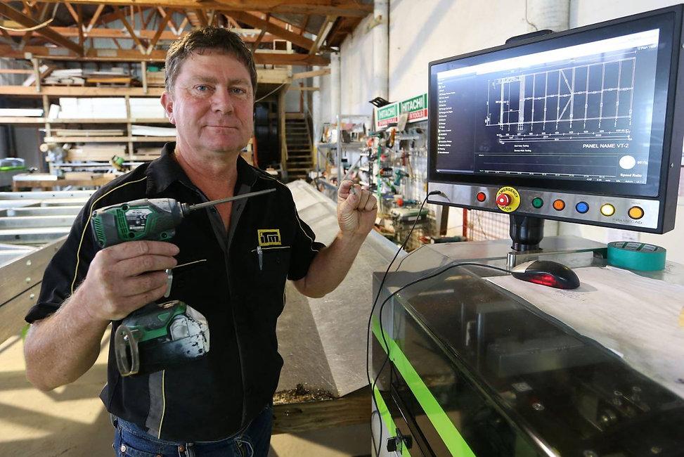 STEEL FRAMES FOR USE IN QUAKE REBUILD