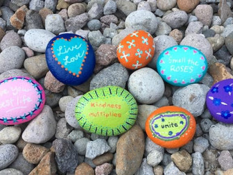 Rock Painting and Would You Rather!