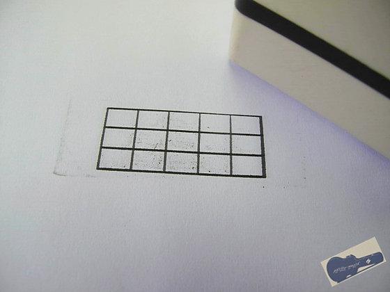 6x4 貝斯、烏克麗麗 和弦格光敏印
