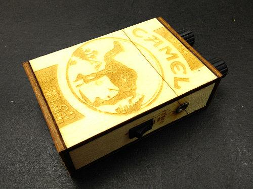 Camel Wooden Box Mini Amp