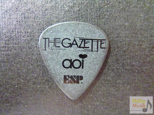 日本樂隊the GazettE 葵aoi 結他pick by ESP