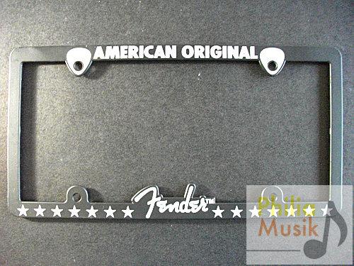 Fender Logo 車牌框