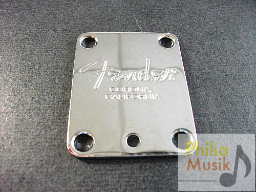 Fender MIA 金屬牌