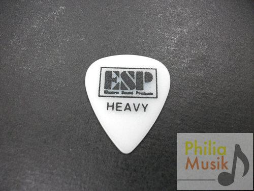 ESP 白色磨沙防滑 Pick (1mm)