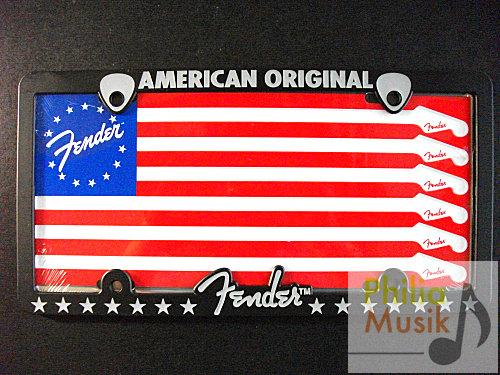 Fender 旗幟 車牌框