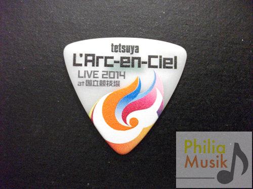L'Arc-en-Ciel Tetsuya Live 2014 結他Picks