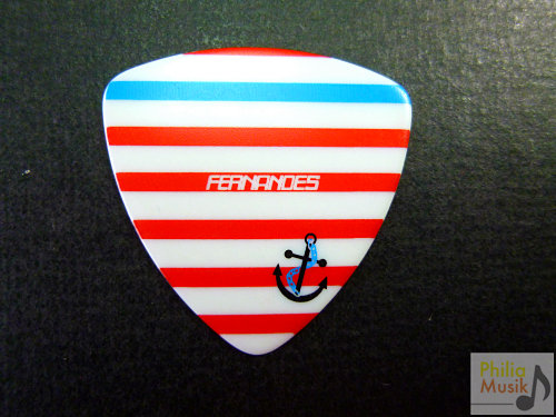 Fernandes Sailor Pick 水手紅間