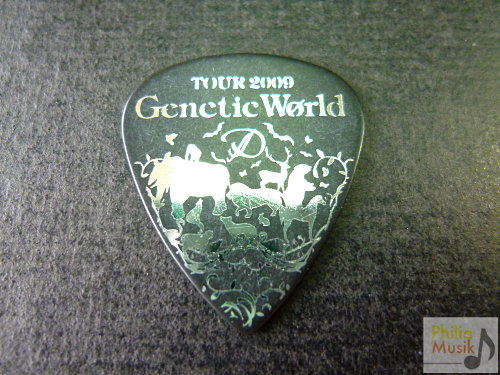 日本樂隊D Ruiza Genetic World 結他pick by ESP
