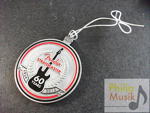 Fender ST 60周年紀念 掛牌