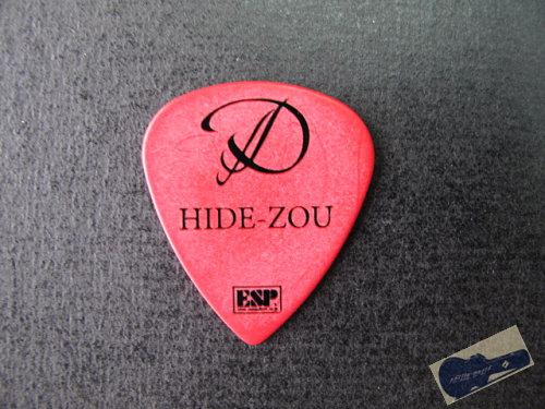 日本樂隊D Hide-Zou結他pick by ESP