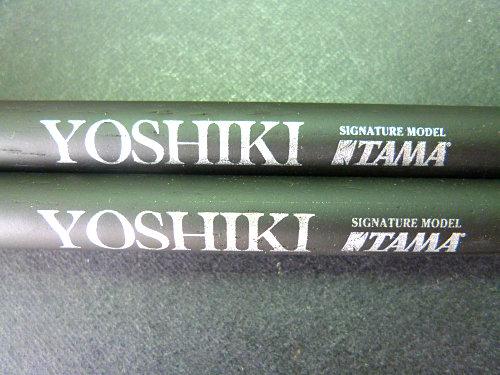 日本TAMA X JAPAN YOSHIKI 防滑鼓棍