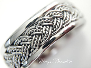 Rings Paradise Celtic Rings Are Inspired By The Most Spiritual and Mysterious Artwork in History