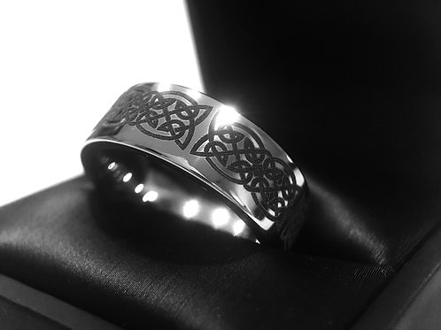 Celtic Eternity Ring, Engagement Ring, Wedding Ring, Tungsten Ring, Mens Wedding Bands, Rings Paradise, Wedding Bands Set