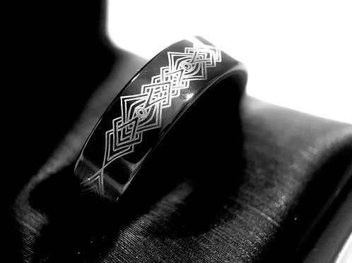 Mens Wedding Bands, Mens Ring , Wedding Bands, Tungsten Carbide Ring, Celtic Ring, Celtic Jewelry, Rings Paradise, the Knot,
