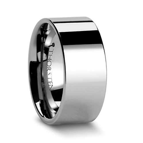 Tungsten Carbide Ring, Engagement Band - 10mm