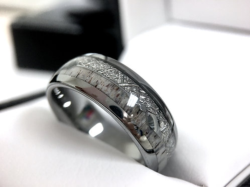 Mens Wedding Bands, Women Wedding Ring,His and Her Promise Ring, Tungsten Carbide Ring , Rings Paradise , Laser Engraving