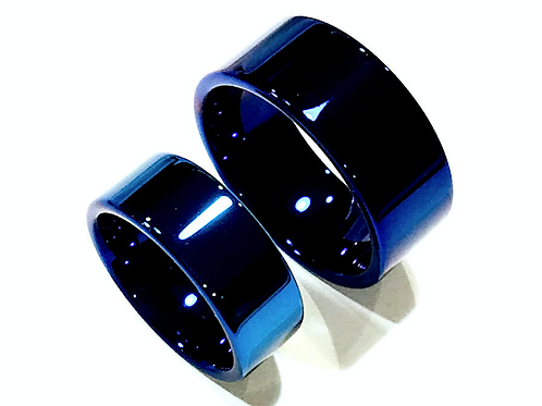 Blue Tungsten, Mens Tungsten Wedding Bands, Mens Tungsten ring, His Promise Ring, Anniversary Ring, Rings Paradise