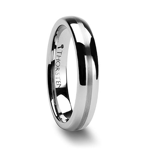 Tungsten Wedding Band, Engagement Ring 4mm-6mm