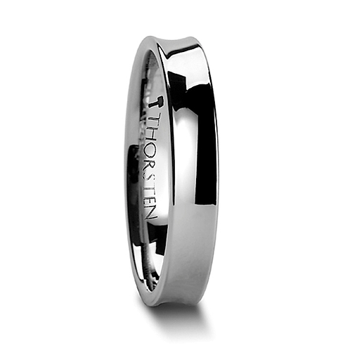 Tungsten Wedding Band,  Engagement Ring - 4 mm