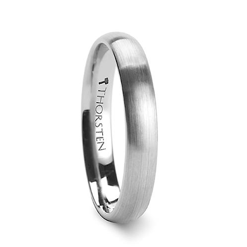 Tungsten Wedding Band, Engagement  Ring - 4mm