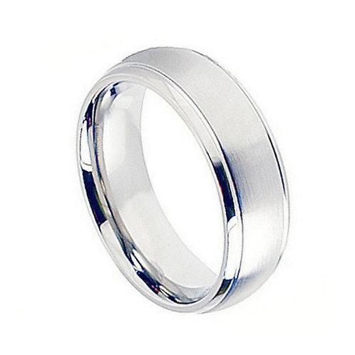 Cobalt Ring, Annyversary Ring, Wedding Band 8mm