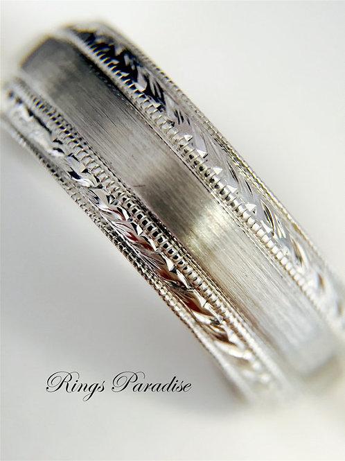 14k Gold Celtic Wedding Bands, Celtic Knot Ring