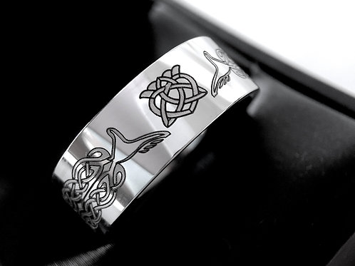 Claddagh Ring, Celtic Wedding Band, Love Knot Ring, Mens Women Scottish Ring, Men Celtic Ring, Men's Claddagh Celtic Ring