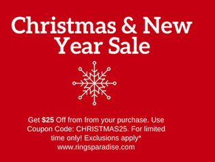 Rings Paradise Christmas & New Year Sale is Live Now!