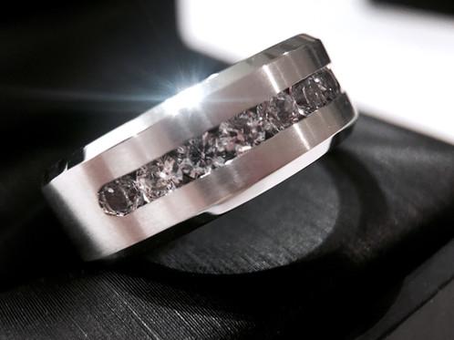 Mens Engagement Ring Wedding Ring Titanium Ring Wedding Ring Mens R