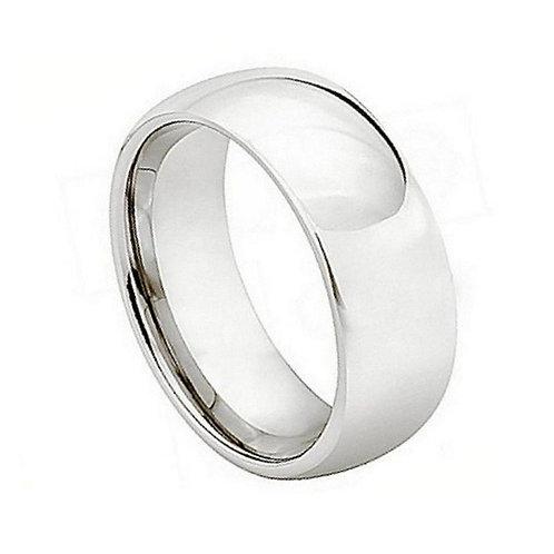 Cobalt Ring, Annyversary Ring, Wedding Band 9mm