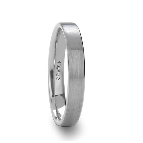 Tungsten Wedding  Ring, Brushed Finish 4mm-8mm