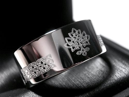 Life Tree Celtic Ring, Celtic Love  Ring, Celtic Knot Ring, Irish Ring