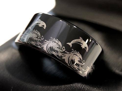 Tungsten Ring , Black Tungsten Ring Man, Wedding Bands, Wedding Ring, Tungsten Ring Women , Men Engagement, His Promise Ring