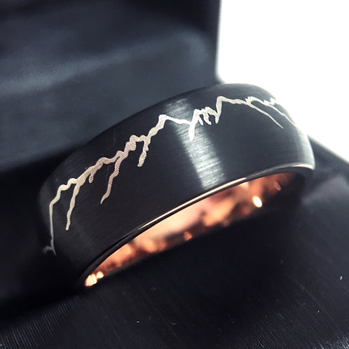 Rings Paradise, Wedding Ring, Wedding Bands, Mens Engagement, Promise Ring, Anniversary Ring, His and Hers , Tungsten Carbide