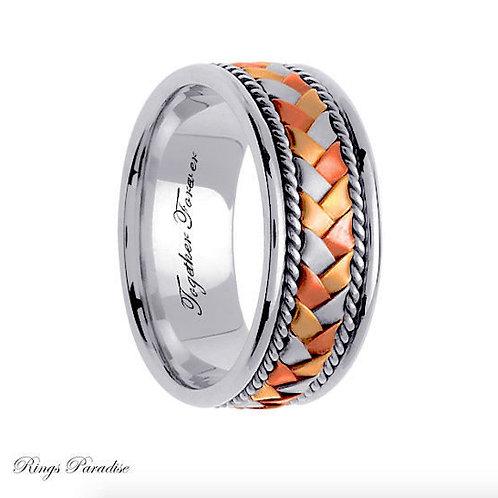 14k Gold Celtic Wedding Bands, Celtic Wedding Ring