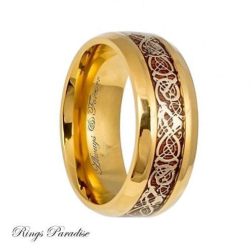 Titanium Ring, Mens Titanium Wedding Band