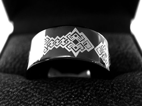 Mens Wedding Bands, Wedding Ring, Mens Celtic Ring, Tungsten Ring, His, Hers Promise Ring Women Wedding Band Celtic Knot