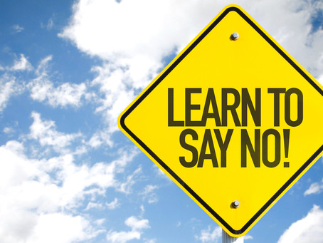 Be More Effective By Saying No More Often