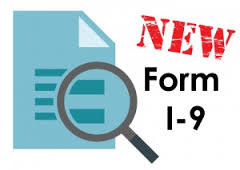 A New I-9 Form Released on July 17