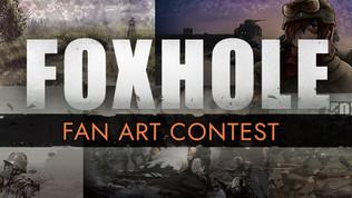 2019 Foxhole Art Contest Winners