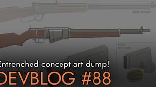 Devblog 88 - Concept Art of Entrenched