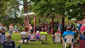 Video recording of Vermont's Freedom & Unity Chorus at Community Rally for Togetherness