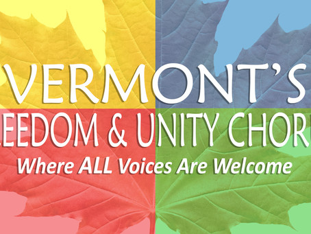 Vermont's Freedom & Unity Chorus and Director Featured in St. Mike's News Stories