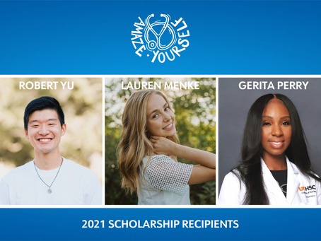 2021 Amaze Yourself Scholarship Recipients