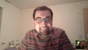 Eyad, één brok wilskracht en toewijding