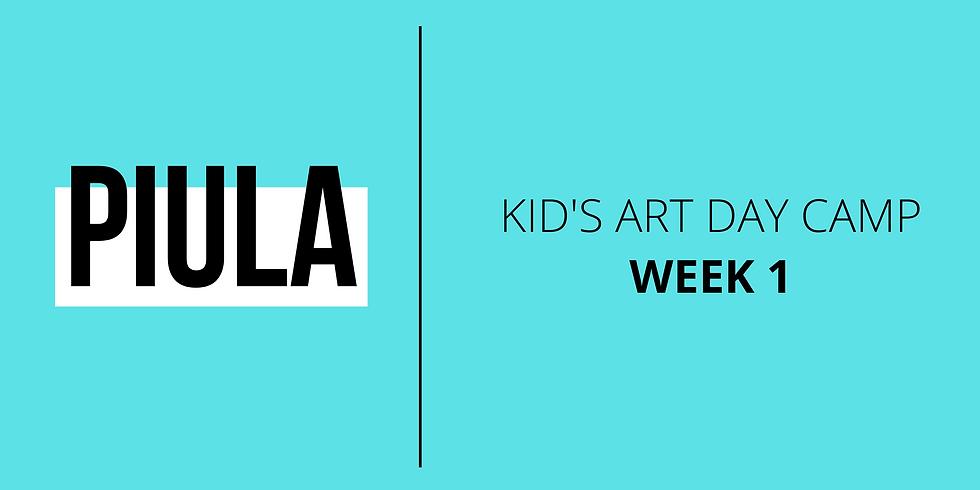 Kid's Art Day Camp - Week 2