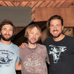 Pics from recording session - John Rienzi, Freddy Monday & Richard Maheux