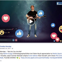 """Video for new single """"Me Are You Are Me' released to Facebook"""