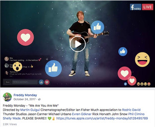 "Video for new single ""Me Are You Are Me' released to Facebook"