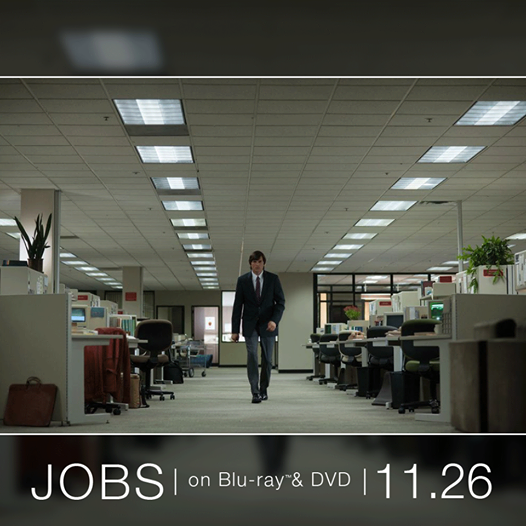 """JOBS"" on Blu-ray & DVD 11.26"